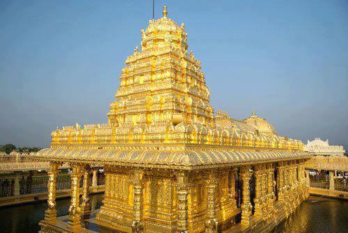 Vellore Golden Temple Sripuram Tamilnadu